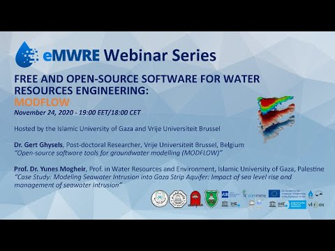 eMWRE Free and Open-Source Software for Water Resources Engineering Webinar Series - MODFLOW