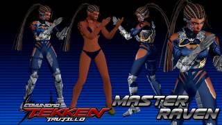 MOVELIST Master Raven TekkenTrux 7 FR MOD Coder