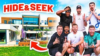 SIDEMEN HIDE AND SEEK IN THE MOST EXPENSIVE HOUSE IN LONDON