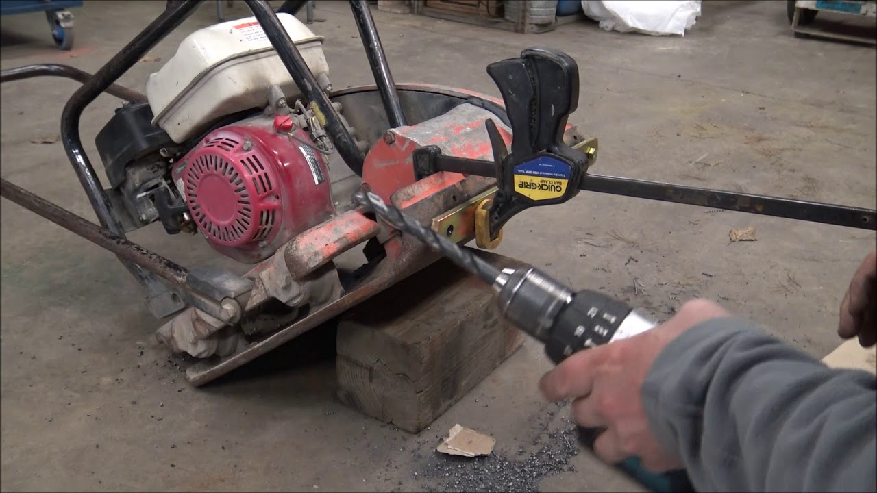How to Mount the Quick-E-Paver Pad to your Compactor