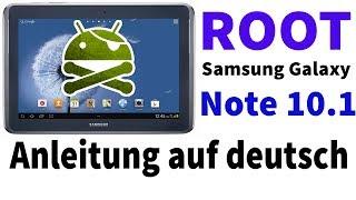 Anleitung: Root vom Samsung Galaxy Note 10.1 | kein Datenverlust | deutsch [HD]