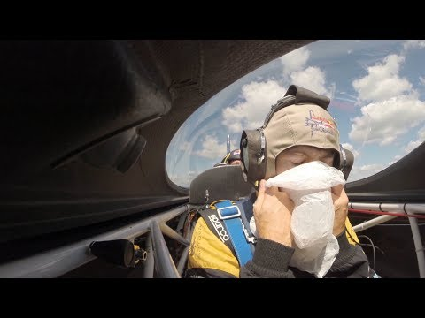 James Hinchcliffe's Wild Ride in a Red Bull Air Race Plane with Kirby Chambliss
