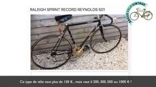 Combien vaut un vélo Raleigh Sprint Record Reynolds 501 ?