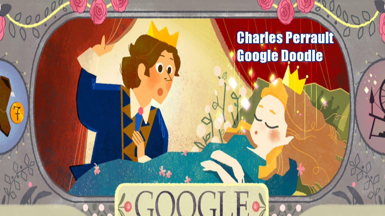 Charles Perrault Charles Perrault Google Doodle 388th Birthday of French Fairy Tales