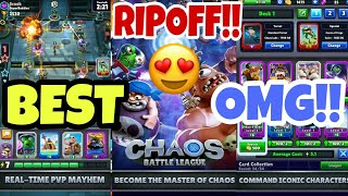 BEST CR RIPOFF EVER!!!|CHAOS LEAGUE GAMEPLAY ANDROID