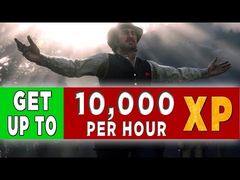 Red Dead Redemption 2 Online Exploit - Unlimited XP - Get up to 10,000 XP Per Hour - Fastest Rank Up