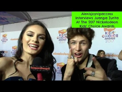 Juanpa Zurita Interview With Alexisjoyvipaccess - 2017 Nickelodeon KCA
