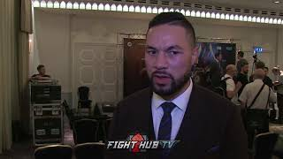 "JOSEPH PARKER ""DYLAN SHOULDNT HAVE TAKEN THIS FIGHT! I ADJUST A FEW THINGS, I BEAT ANTHONY JOSHUA!"