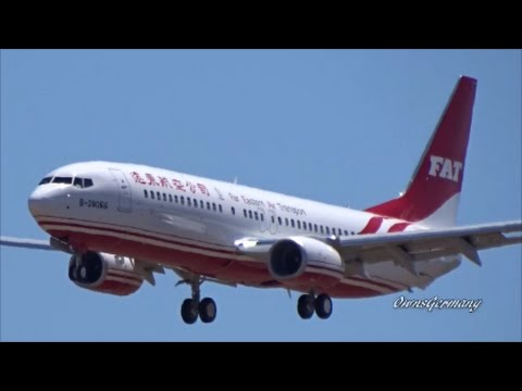 1st FAT Boeing 737-800 Far Eastern Air Transport Missed Approach Test Flight