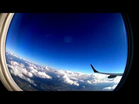 1 hour | Flight from Warsaw (WAW) to Brussels (BRU) by Lot - Part I
