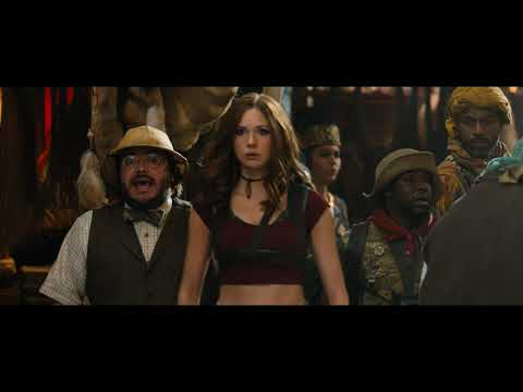 """Jumanji Movie Event - Welcome to the Jungle """"Bazaar Fight"""" Clip"""