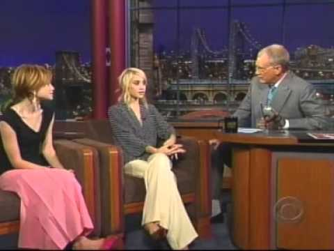 Mary-Kate and Ashley Olsen - David Letterman 2004 pt 2
