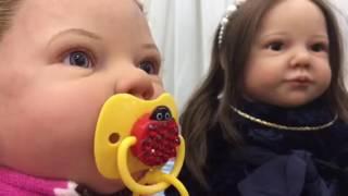 Провожаем Леру и Надюшу,выставка кукол в СПб