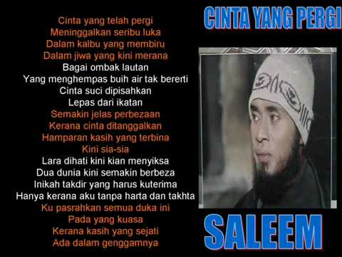 Saleem+IKLIM-CintaYangPergi
