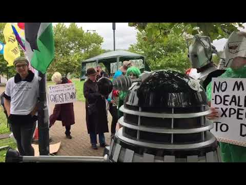 Dalek says Know Your Rights!