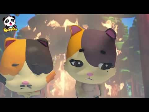 El Incendio del Bosque | Recopilaci贸n de Canciones Infantiles | Equipo de Rescate | BabyBus Espa帽ol