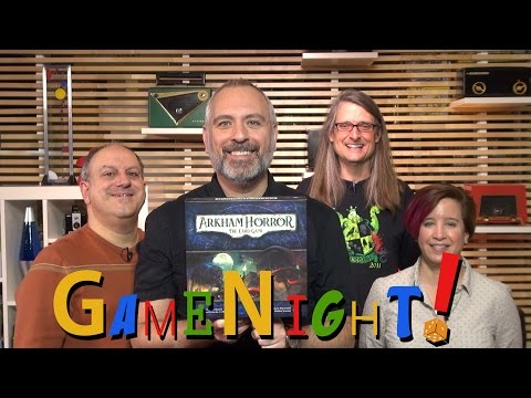 Arkham Horror: The Card Game – GameNight! Se4 E24
