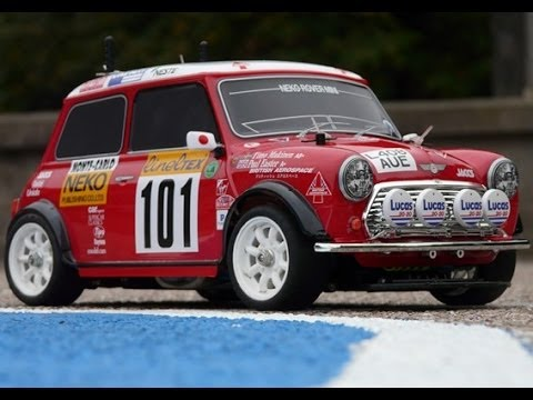 Tamiya 58163 Rover Mini Cooper '94 Monte Carlo