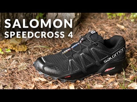 4752897de67a6a Running Shoe Overview  Salomon Speedcross 4 - YouTube