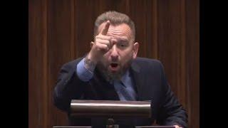 Liroy-Marzec dewastuje Arłukowicza z mównicy - musimy patrzeć na wasze złodziejstwo!