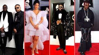Rappers At The Grammys 2018 and 2018 Grammy Winners (Cardi B Kendrick Lamar Bruno Mars Lil Uzi Vert)
