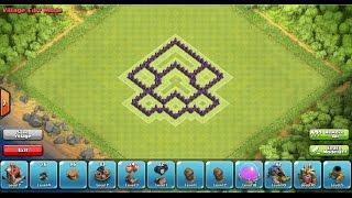 Clash of Clans - TH5 Trophy/Clan War Base Speedbuild