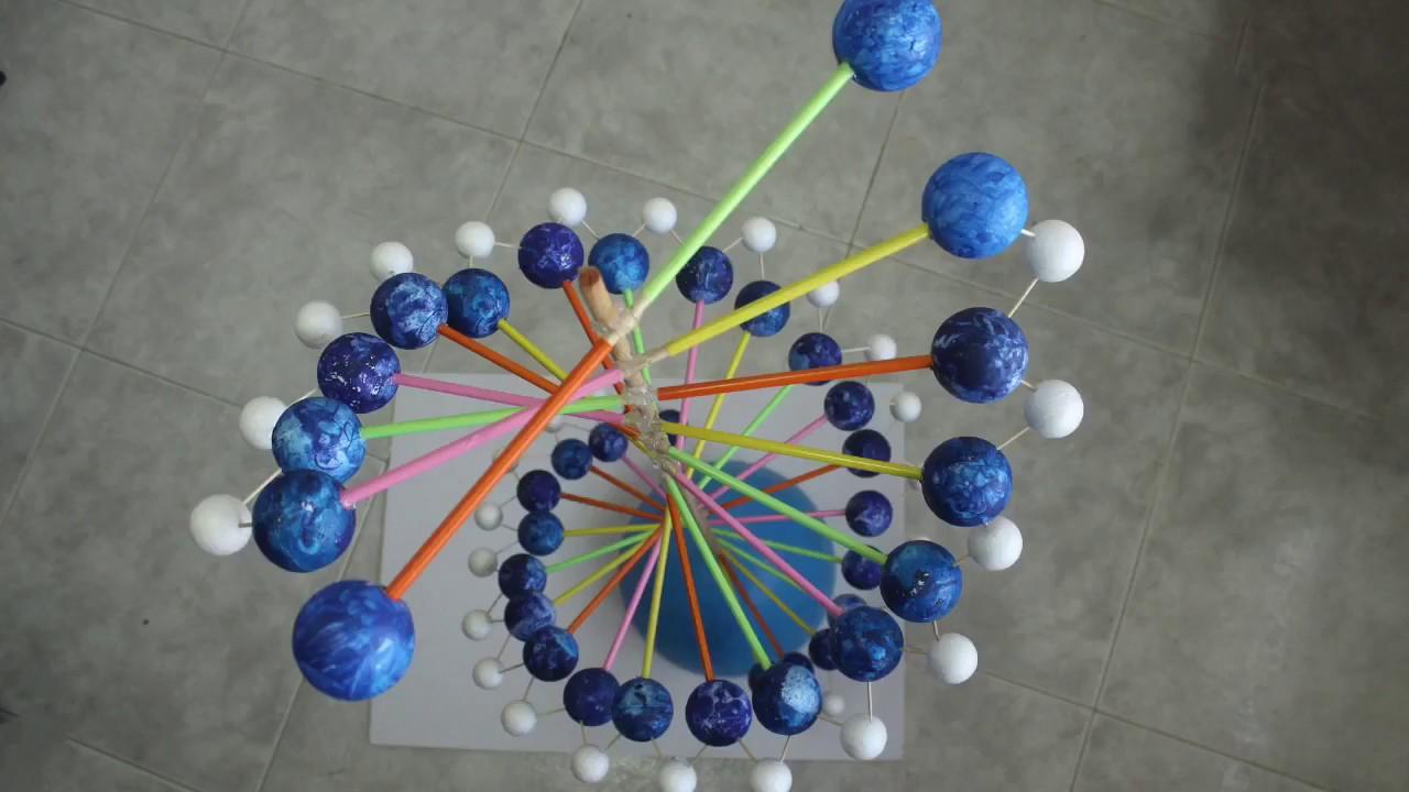 طريقة عمل مجسم DNA