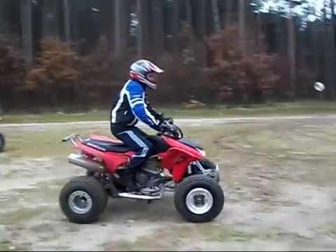 Quad Honda Trx 450 R & Ex 400 Tuchola