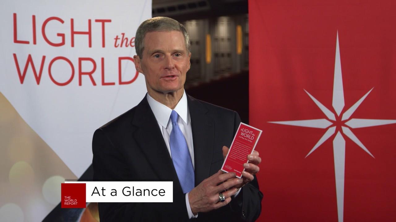 Lds Light The World Calendar 2020 Video: Elder Bednar Shares More About the Church's New Christmas