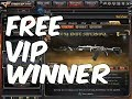 1st Free VIP Winner Harvey D. Salazar