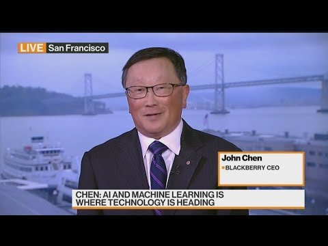 BlackBerry 'in pretty good position' amid mounting scrutiny on China: John Chen