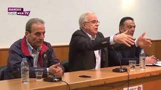 Ομιλία υπουργού Γεωργίας Β. Αποστόλου στο Κιλκίς-Eidisis.gr webTV