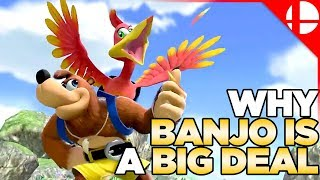 Why Banjo is a Big Deal! The Story of Banjo-Kazooie in Smash Ultimate