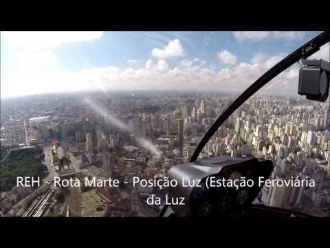 Voo Helicóptero Robinson R44 Raven II São Paulo, Mairiporã e Franco da Rocha 08 02 2017