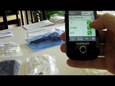 Samsung Corby Pro Unpacking