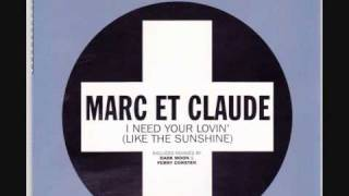 marc et claude i need your lovin like the sunshine.wmv