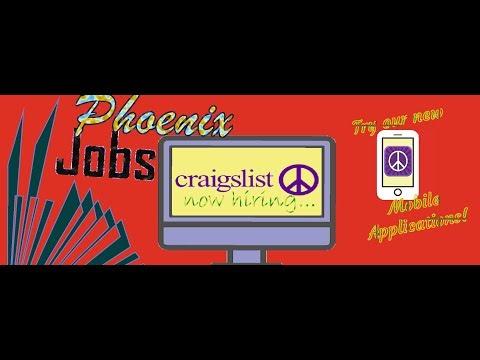(Phoenix Jobs) Craigslist Now Hiring Immediately - General ...
