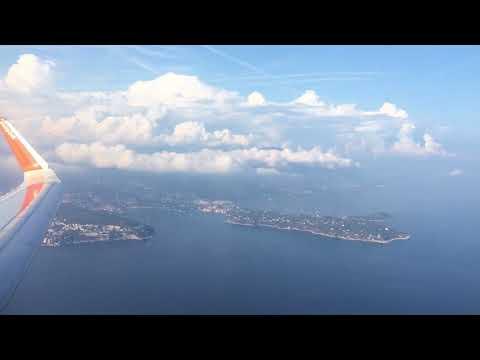 Flying over Villefranche and Saint Jean Cap Ferrat