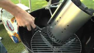 How to Light a Charcoal Grill for Direct Cooking - Weber Grill Knowledge