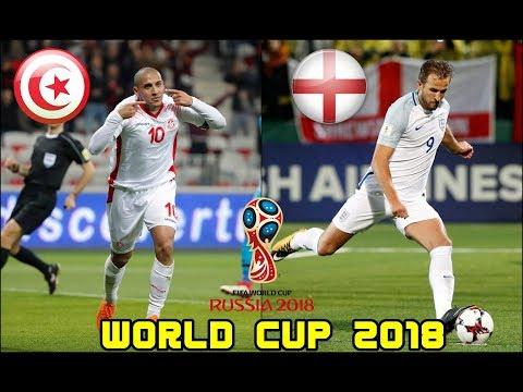ฟุตบอลโลก 2018 : พรีวิว ตูนิเซีย ปะทะ อังกฤษ : 18/6/2561