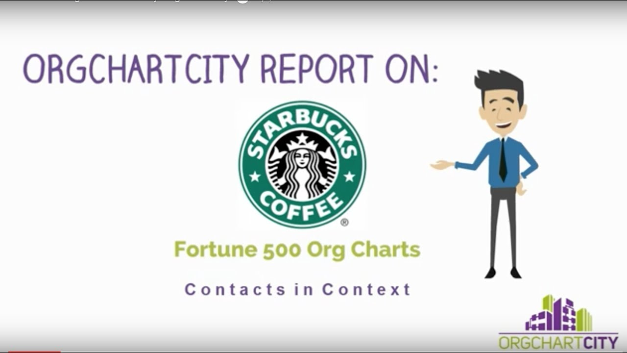 Starbucks org chart video by orgchartcity youtube
