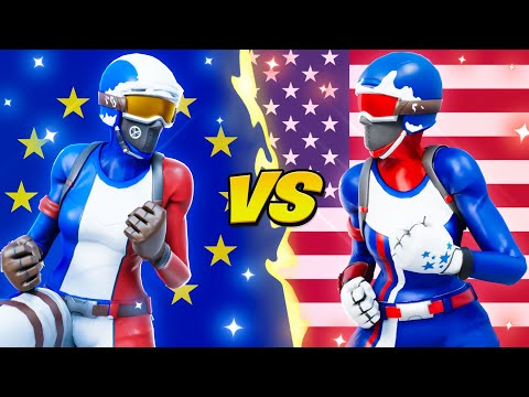 EUROPE vs NORTH AMERICA (Best Region)