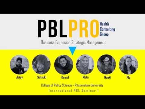 "PBLPro ""Health Consulting Group"" International PBL Class Ritsumeikan University Infographic"