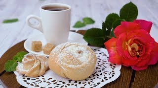 Булочки «Розы» - Рецепты от Со Вкусом