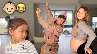 THE ACE FAMILY BABY MAMA DANCE!!! (TRYING TO GO INTO LABOR) Video