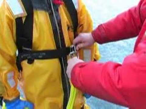 MARSARS Cold Water Rescue Sling Instructions