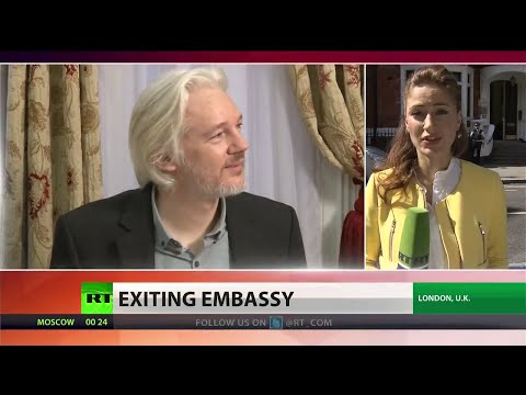 Julian Assange to leave Ecuadorian embassy 'soon'