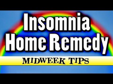 Insomnia Home Remedy