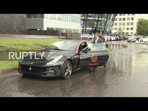 Russia: Dream car alert! - Moscow car sharing company offers FERRARI