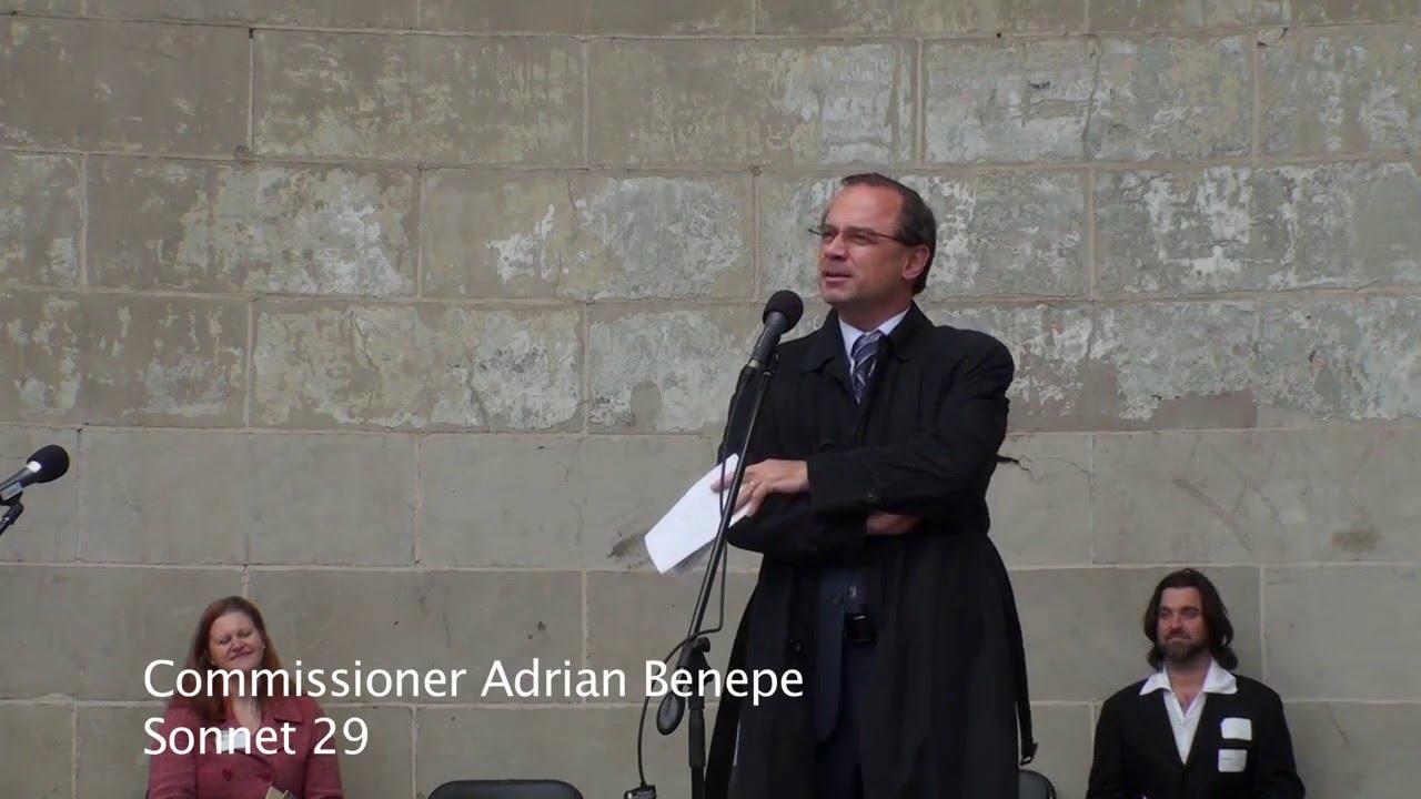 Download 2011 Shakespeare Sonnet Slam, Adrian Benepe, Sonnet 29